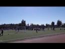 Спартакиада работников газоперерабатывающего завода Соревнования по легкой атлетике Второй в своем забеге