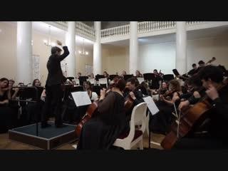 Концерт Российского национального молодежного симфонического оркестра в СПбГУ 14 ноября 2018. Лебединое озеро.