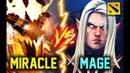 MIRACLE SHADOW FIEND vs MAGE INVOKER TOP PRO MID BATTLE DOTA 2