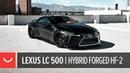 Lexus LC 500 on Vossen Hybrid Forged HF-2 Wheels