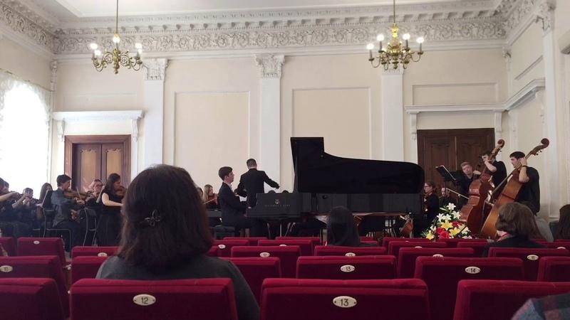 Рахманинов концерт 2 молодежный симфонический оркестр УГИИ им З Исмагилова 23 04 2019