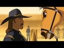 Спирита приводят в форт. Спирит встречает Полковника - Спирит: Душа прерий (2002)