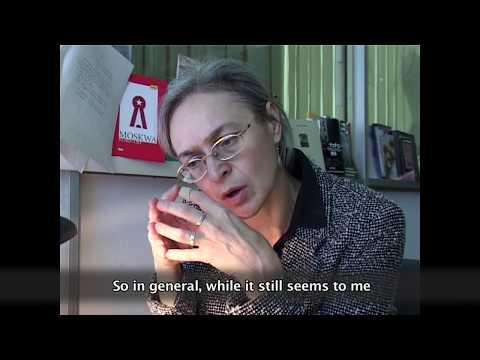 Anna Politkovskaya Interview after Beslan 2004