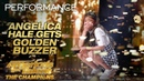Angelica Hale Receives Golden Buzzer From Howie Mandel America's Got Talent The Champions