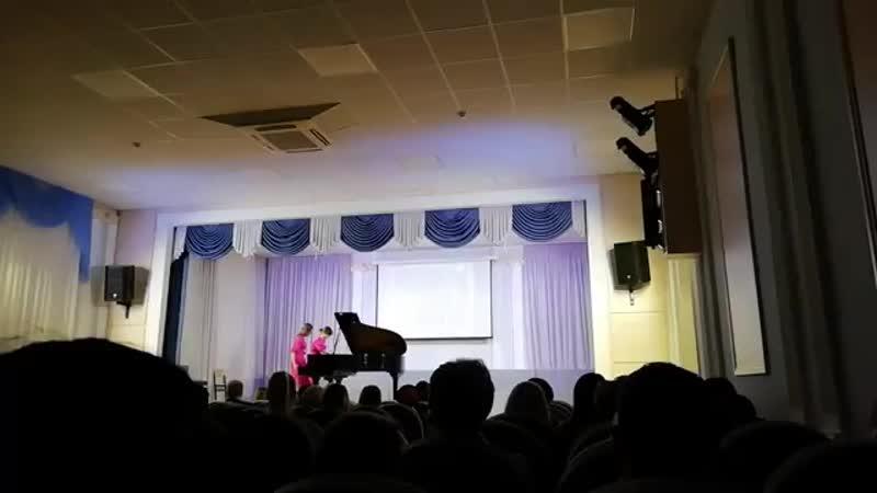 Выступление на День открытых дверей в Губернском Педагогическом Колледже