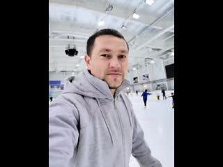 """Каток в Ледовом - """"Айсберг"""" Учимся кататься."""