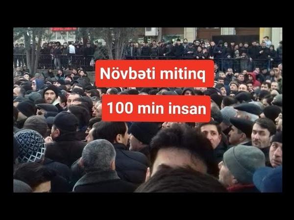 Hökümətdən mitinqə reaksiya, əndişə - SON DƏQİQƏ