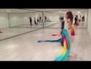 Восточные танцы. Занятие