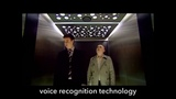 Voice recognition elevator in Scotland (HD)