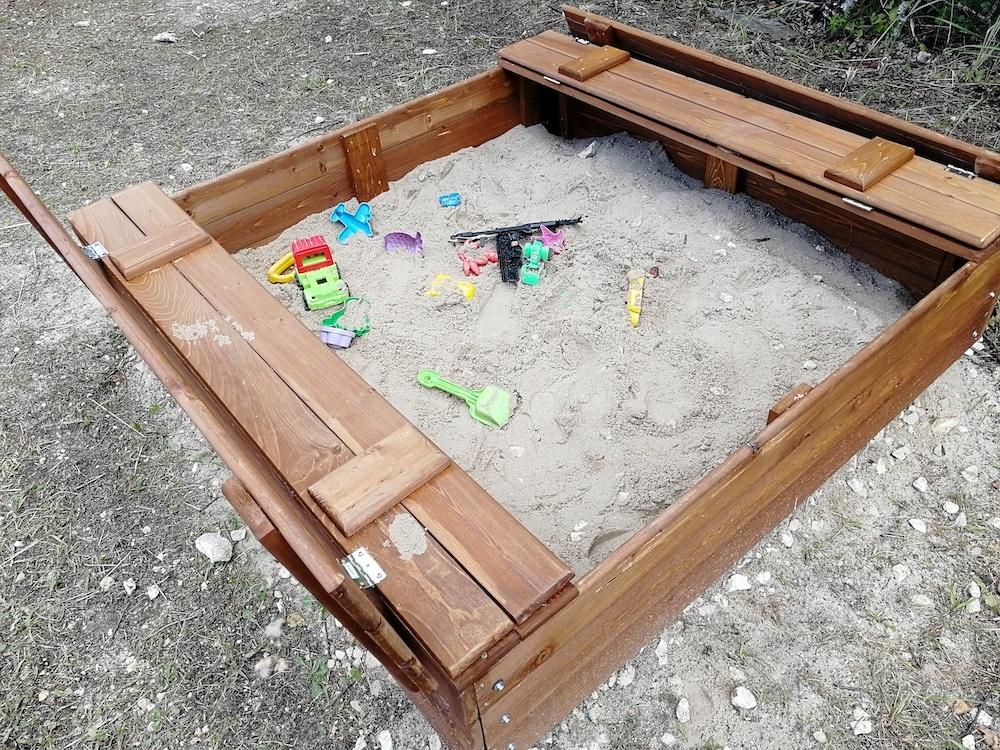 Благодарность за установку детской площадки