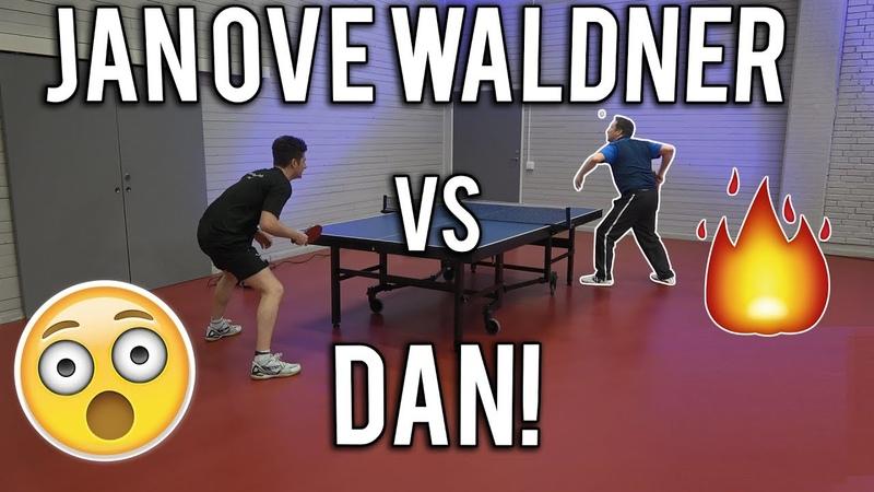 Jan Ove Waldner vs TableTennisDaily's Dan | 2018 Edition