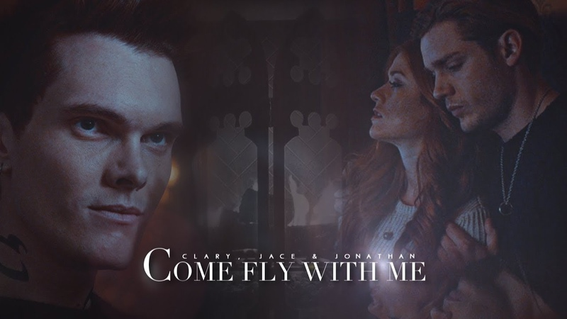 Clary Jace Jonathan ➰ Come Fly With Me 3x14 SaveShadowhunters