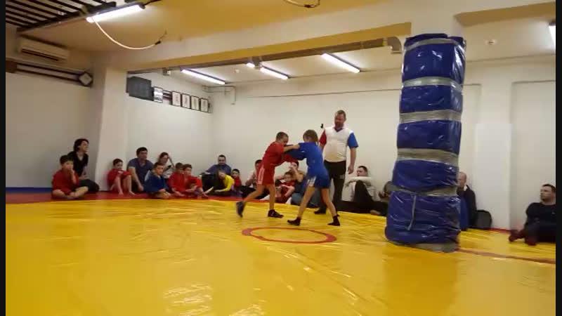 Открытый турнир по Самбо дети 7 8 лет