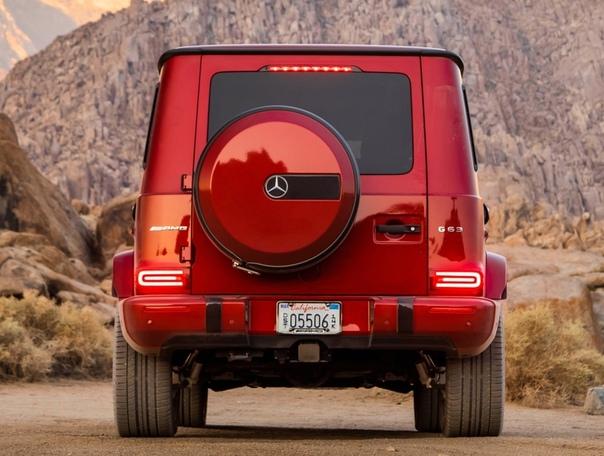 Обзор : Mercedes-AMG G 63 (Br.463)