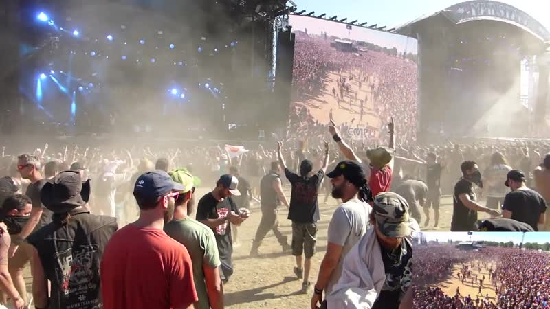 Devildriver - Meet The Wretched (live at Hellfest 2017)