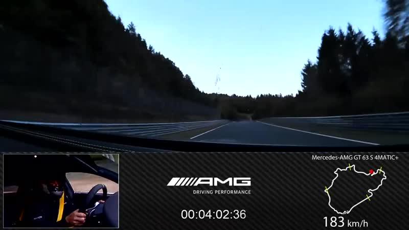 Record Lap - Mercedes-AMG GT 63 S 4MATIC Dominates the Nürburgring Nordschleife