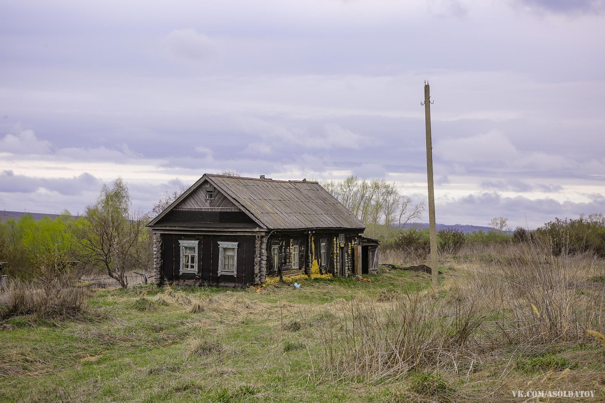 Заброшенный дом в Литомгино