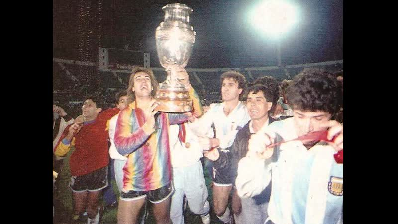 Аргентина 2 1 Колумбия Финал Кубка Америки 1991