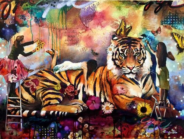 Удивительные картины художницы Димитры Милан