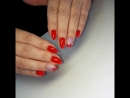 Аппаратный маникюр, выравнивание ногтевой пластины базой, покрытие гельлак