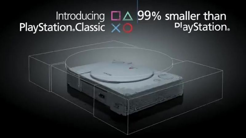Sonys PlayStation Classic will fit in your hand and cost you $100