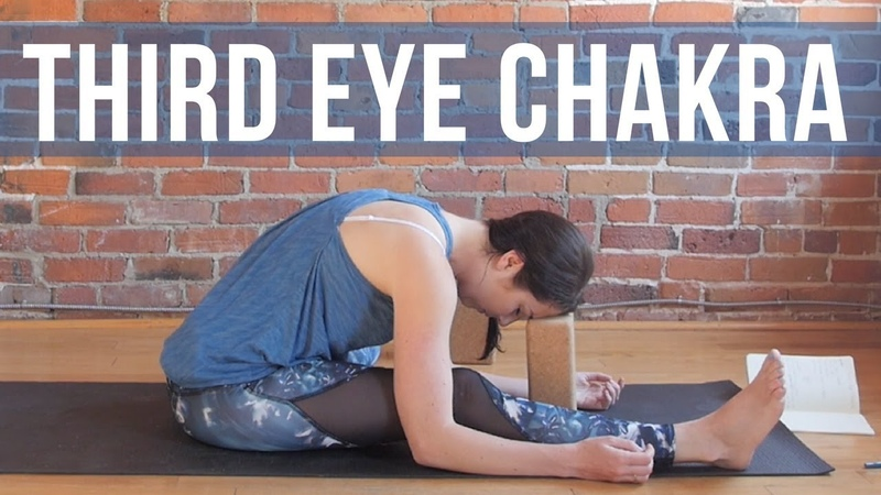 Third Eye Chakra Yin Yoga for Intuition and Insight 30 min