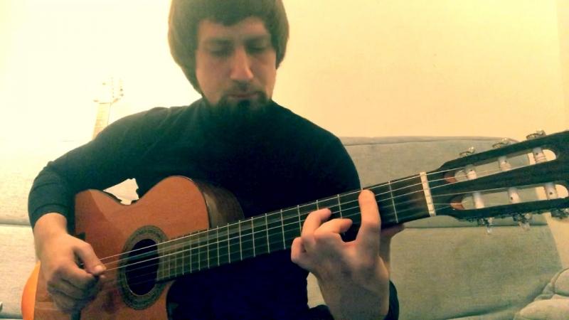 Выдержанный (педальный) верхний тон . www.jazz-guitar.ru