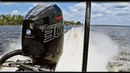 Mercury Racing 300R V8 Outboard Startup and Running Fast