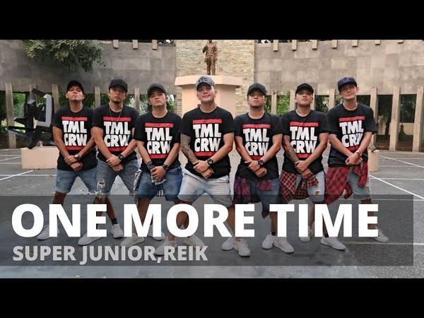 ONE MORE TIME (Otra Vez) by Super Junior | Zumba | KPop | TML Crew Kramer Pastrana