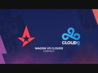 Highlights: magisk vs cloud9 | blast pro series: lisbon 2018