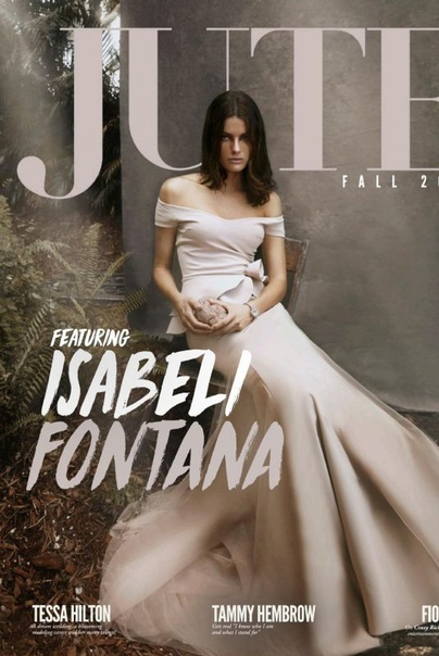 Изабели Фонтана Jute Magazine, 2018
