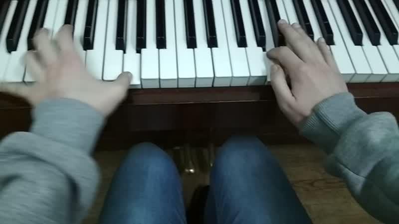 Ария Иоганн Маттезон фортепиано/Aria Johann Mattheson piano