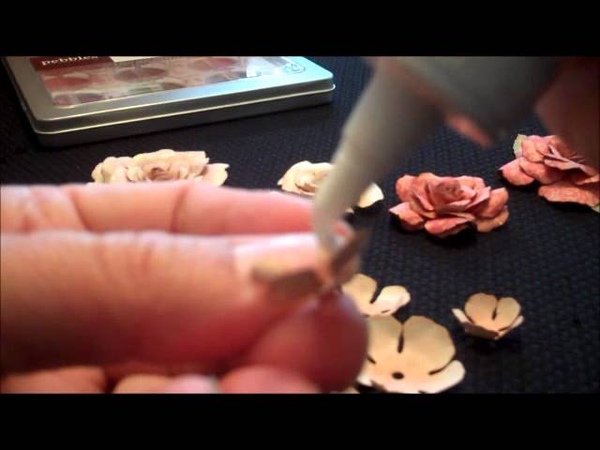 How To Make Paper Rose Using The Spellbinder Donna Salazar Die Cut System
