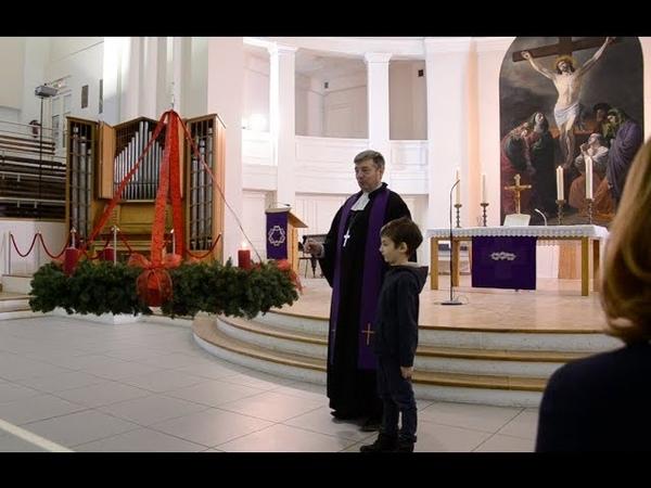 2 адвент в Петрикирхе Санкт Петербург