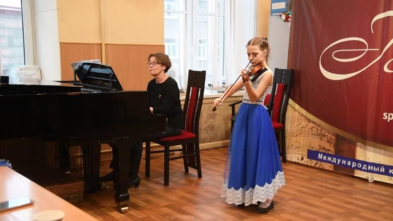 Маленький Моцарт декабрь 2018. А. Вивальди. Концерт ля минор 1 ч.