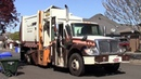 International Workstar Labrie Expert 2000 Garbage Truck with Glass Recycling Compartment