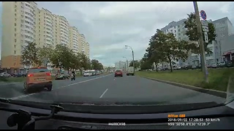 Дтп с мото 02.09.2018 ул. Маршала Захарова д.60