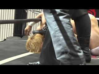 Mad Paulie, Nobuhiro Shimatani vs. Toru Owashi, Yuki Ueno (DDT - Road to Ryogoku 2018 ~ Dramatic Dream Tor no Shiun)
