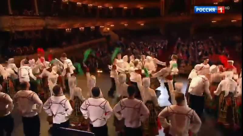 Хор Пятницкого в Большом 23 2 19 Pyatnitsky Choir in Bolshoi - Red Army Choir 90TH5