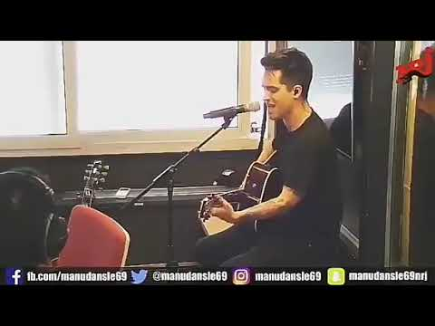 Panic! At The Disco High Hopes Acoustic at NRJ