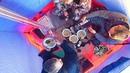 ЗИМНЯЯ РЫБАЛКА С КОМФОРТОМ в мороз -30 КАК В БАНЕ Бешеный клёв по первому льду на озере
