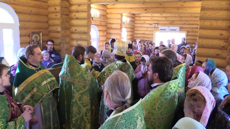 Освящение храма часовни Сергия Радонежского при Ульяновском аграрном университете