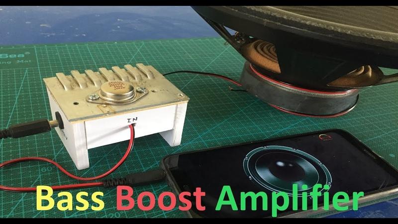 DIY Ultra Deep Bass Amplifier || Loud and Clear Speaker - Ver 4