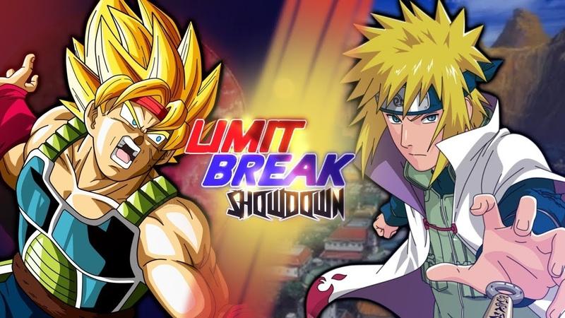 Bardock VS Minato Namikaze (Dragon Ball VS Naruto) | Limit Break Showdown