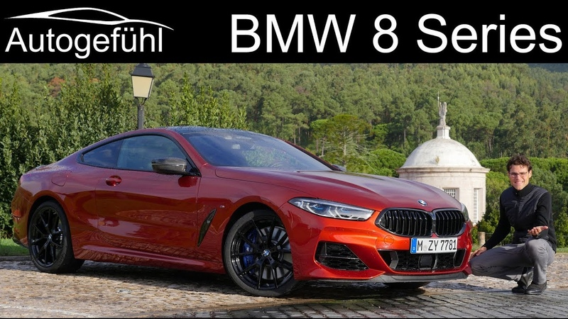 BMW 8-Series Coupé FULL REVIEW with racetrack all-new 8 Series 8er - Autogefühl