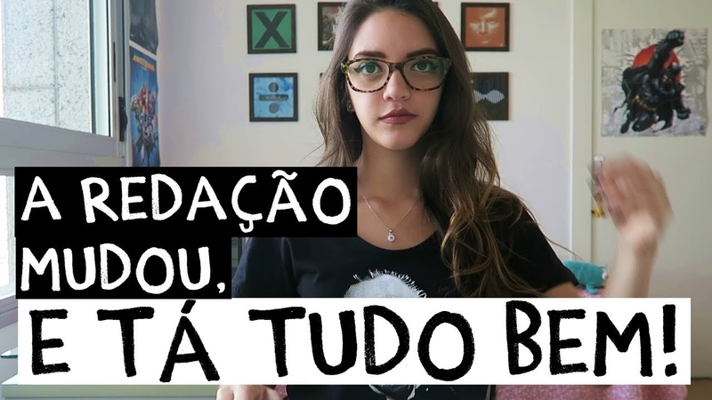 EXPLICANDO AS MUDANÇAS DA REDAÇÃO DO ENEM (fiquem calminhos, tá tudo bem ♥) - Débora Aladim