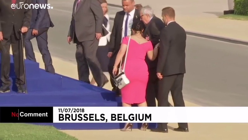 Le président de la commission européenne est un alcoolique ? Et il nous dirige ? Et nous suivons ?