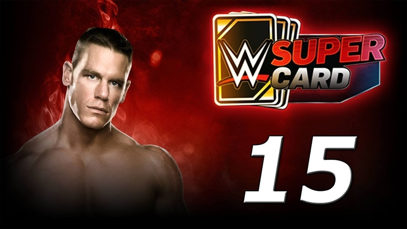 WWE SUPERCARD Карточные бои! №15 Android