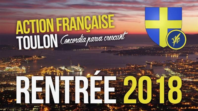 Rentrée 2018 de l'Action française Toulon [1/6]