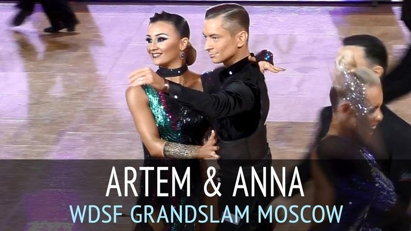 Артем Ефанин Анна Дергунова Ча ча ча 2018 GrandSlam Latin в Москве